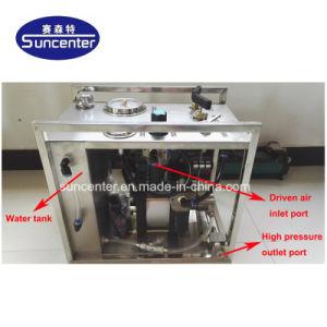 Prueba de presión de agua Bomba con Registrador ronda