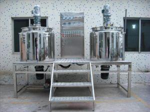Vloeibare Was die Mengt Tank voor Chemische Industrie homogeniseert