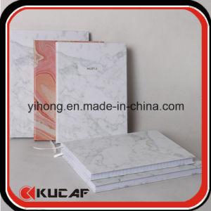 O logotipo personalizado de hot stamping capa dura de impressão em mármore branco livro Diário