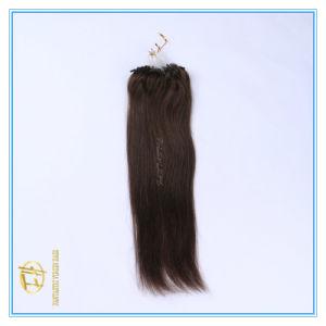 Kundenspezifische Farben-Qualitäts-Doppeltes gezeichnete Mikroring-Extensions-Haare mit Fabrik-Preis Ex-024