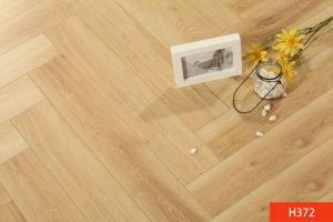 Surface de chêne HDF Core Engineered Wood de sol stratifié