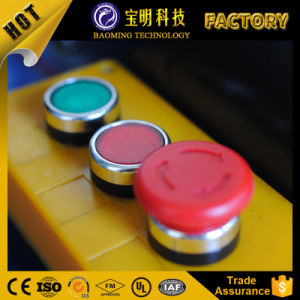 高圧ホースのためのセリウム12Vの油圧ホースのひだが付く機械