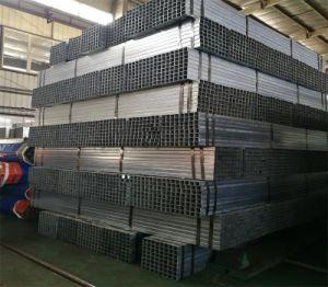 Gegalvaniseerd Mej. Steel Pipe, de Holle Vierkante Buizen van de Sectie met Eerste Kwaliteit, Vrije Steekproef