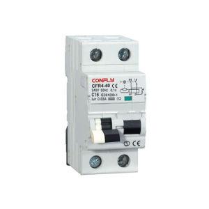 Disjuntor CFR4-40 Atual Residual com Proteção RCBO da Sobrecarga