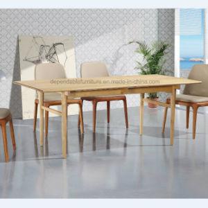 Rectángulo de Diseño de Muebles de Comedor mesa de madera