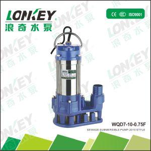 La serie Wqd pequeña bomba de agua sumergible eléctrica