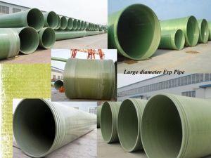 Pijp FRP en Montage van de Glasvezel van de hoge druk GRP de de Samengestelde