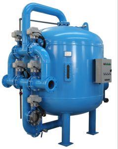 Las válvulas de control cinco medio superficial el filtro de arena de las aguas residuales