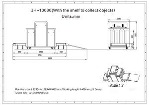 De Scanner van de Röntgenstraal van de Bagage van het Pakket van het Systeem van het onderzoek