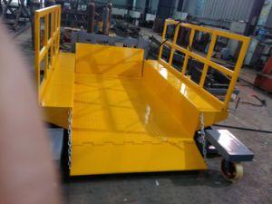 Buenas propiedades de la plataforma de elevación hidráulica/eléctrica
