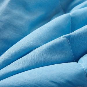Trapunta di estate di Microfiber imbottita colore normale solido