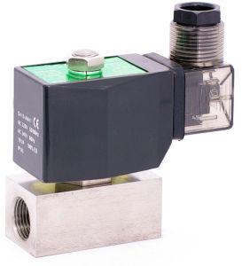 Série Xlg 250 Bar em aço inoxidável de alta pressão da válvula solenóide
