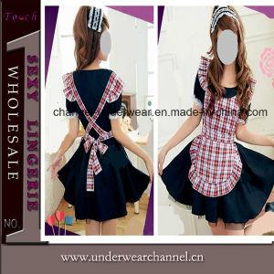 Commerce de gros de l'Halloween adulte Anime Girl Maid cosplay costume (cuillerée à soupe148)