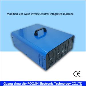 2000W de zuivere Omschakelaar Dubbele gelijkstroom van de Golf van de Sinus voerde Één AC Machine van de Controle van de Voltmeter Zonne in