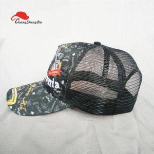 カスタムロゴのCamoの網の帽子