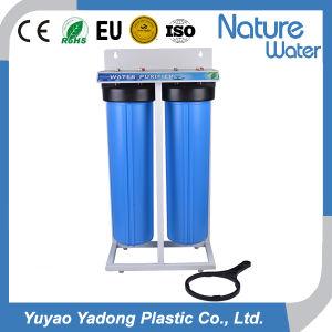 Filtergehäuse-Wasser-Filter-System 2 Stadiums-20  grosses blaues