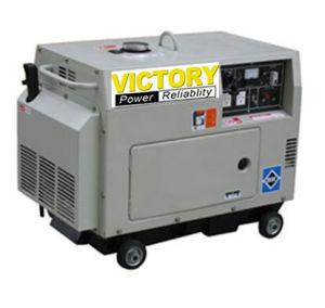 2kw генератор ~ 5kw звукоизоляционный портативный тепловозный с Ce/CIQ/ISO/Soncap