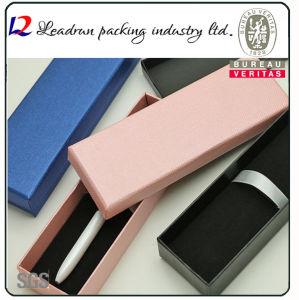 Scatola di presentazione di plastica impaccante dell'imballaggio della casella della penna della visualizzazione del documento della casella della penna del regalo della matita di legno (YSD18)
