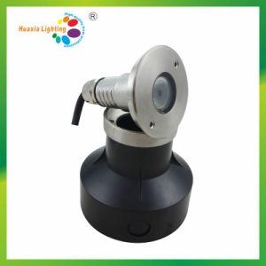 LED de alta potencia de luz subacuática/LED luz enterrada/LED de luz de la piscina