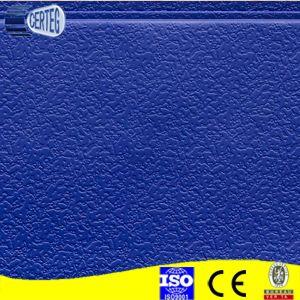 Décoration de couleur bleu matériau panneau sandwich polyuréthane