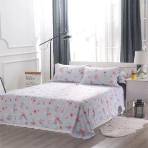 Gedruckter Muster-Mikro-Polyester Bedhseets Bettwäsche-Deckel