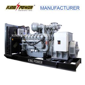 750kVA는 Stamford 발전기를 가진 유형 Perkins 디젤 엔진 발전기를 연다