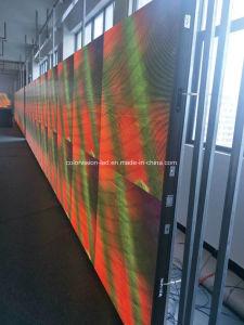Signage를 광고하는 주문을 받아서 만들어진 LED 빛 전시 모듈 LED
