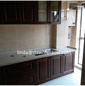 La mejor calidad de China Muebles de Cocina de madera maciza puerta del armario (DFW-D181002)