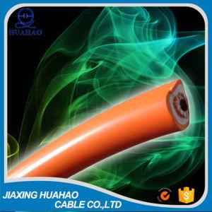 Сварка двойной изоляции кабеля с оранжевого цвета