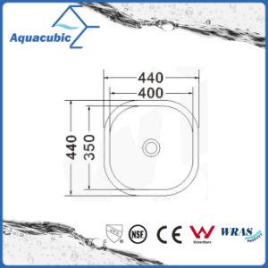ステンレス鋼の正方形のUndermount単一ボールの台所の流し(ACS4436)