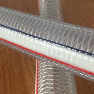 反摩耗102mm PVC鋼鉄およびファイバーの合成物のホース