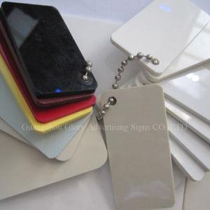 Opal/weißes/Schwarz-milchiges weißes Farben-Gussteil/verdrängten Acrylvorstand