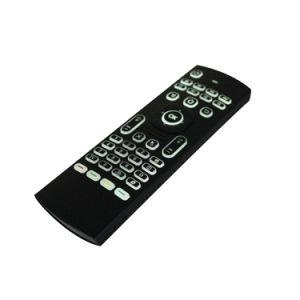Les capteurs de 2,4Ghz Mini clavier sans fil pour TV Box Télécommande intelligente avec voix/rétroéclairé