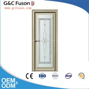 Interno dell'alluminio di vetratura doppia e portello esterno della stoffa per tendine dell'oscillazione