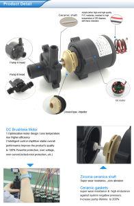 DC 잠수할 수 있는 수도 펌프 24V