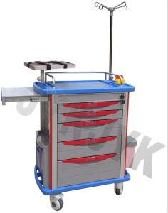 Equipamento médico, carrinho de emergência Jyk-C10C