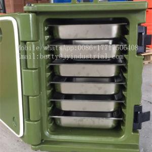 60L LLDPEのプラスチックファースト・フードの輸送用コンテナ
