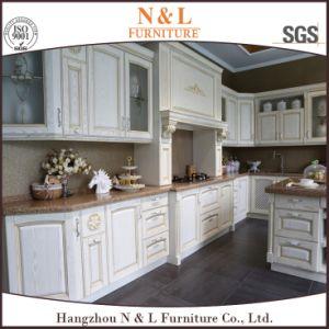 N&L White de bricolaje Madera Sólida mueble de cocina china – N&L ...