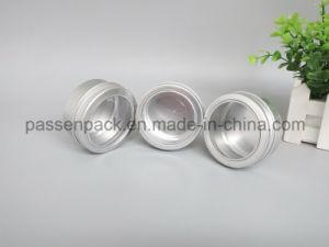 Vela de la ventana de aluminio frasco con tapa de rosca (PPC-ATC-045)