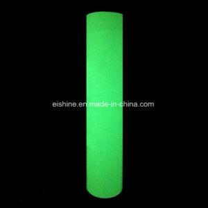 PVCはタイプする暗いファブリック(ESRGTC06)の反射ステッカーの白熱を