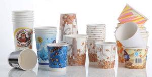 Vaso de papel de alta velocidad de la máquina para taza de café