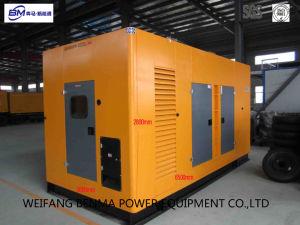 Generatore diesel economico del consumo di combustibile con stile insonorizzato