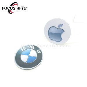 Kundenspezifische Antimetallmarke/-aufkleber des Firmenzeichen-RFID NFC Ntag213