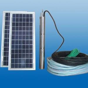 La energía solar de la máquina de la bomba de agua de riego agrícola