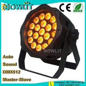 20PCS 15W RGBWA+UV 6in1 LEDの屋外段階ライト