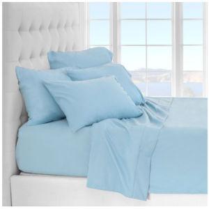El lujo pulido suave de microfibra de cama Ropa de cama de la serie 2100 Conjunto de hojas