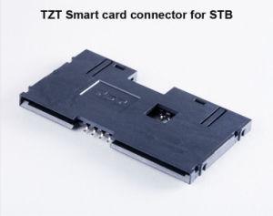 Connecteur de carte à puce IC Connecteur de carte 8P du connecteur de carte IC CMS Smart du connecteur du lecteur de carte IC pour le STB