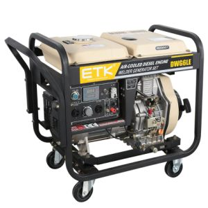 One Year Warranty를 가진 2.5/4.6 Kw Diesel Welder Generator