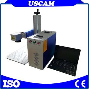 máquina de marcação a laser Uscam barato de Fibras Metálicas