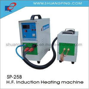 Sp-25b de alta frecuencia de la máquina de calentamiento por inducción